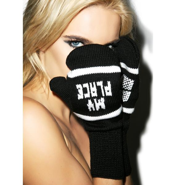 Jac Vanek My Place or Yours Mittens