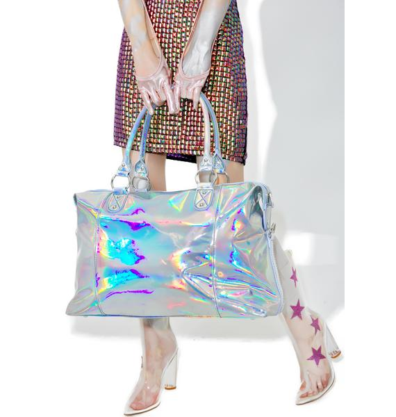 Current Mood Holographic Weekender