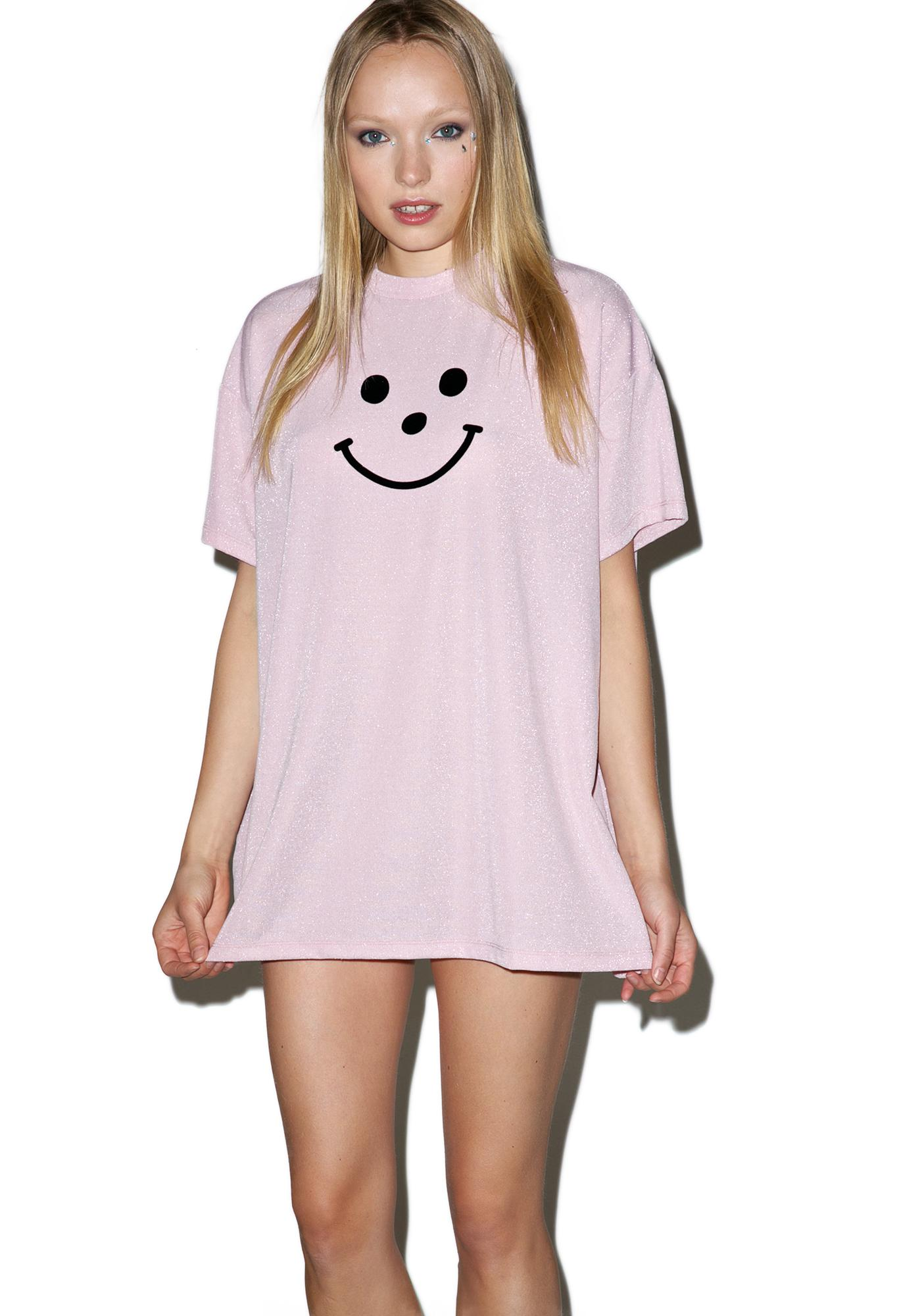 Lazy Oaf Flock Face T-Shirt