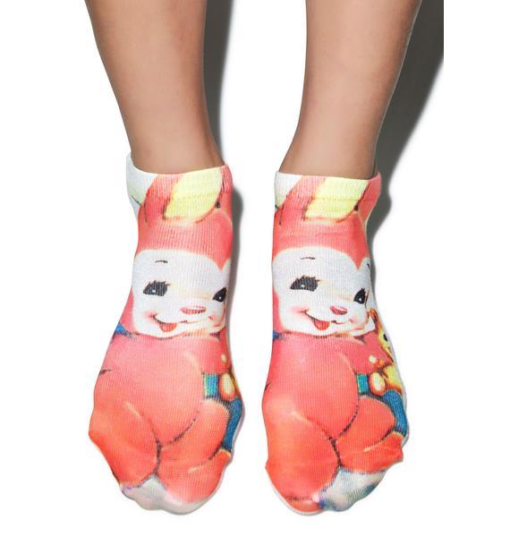Old Skool Bunny Socks