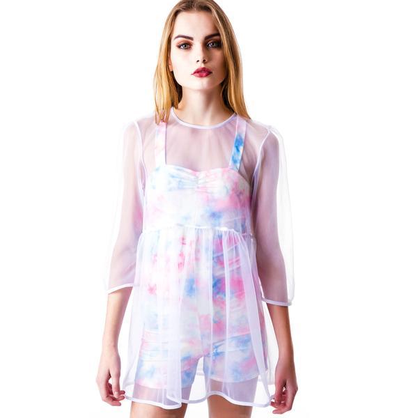 UNIF Candy Mesh Dress