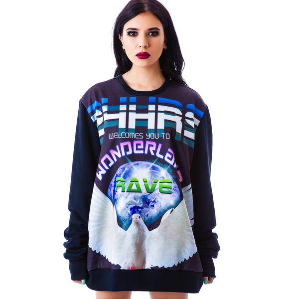 24HRS Wonderland Reversible Sweatshirt
