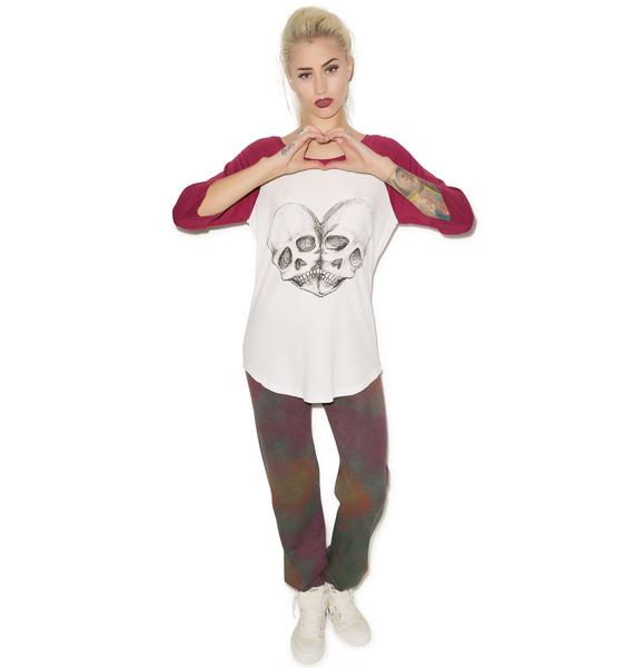 Iron Fist Eternal Love Raglan Tee