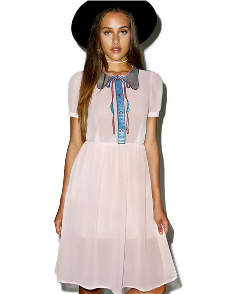 Quick Witted Midi Dress