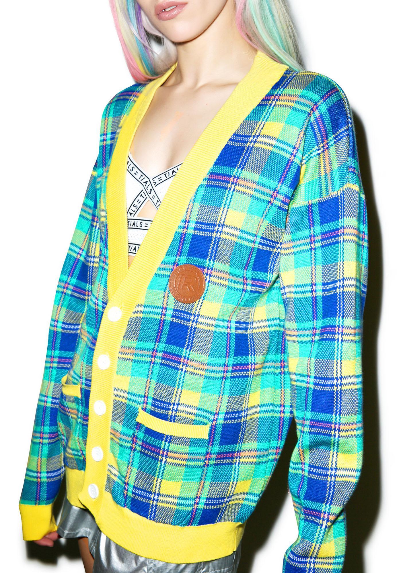 Joyrich Prep Raid Knit Cardigan