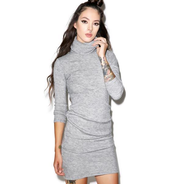 Glamorous Kylie Turtleneck Midi Dress
