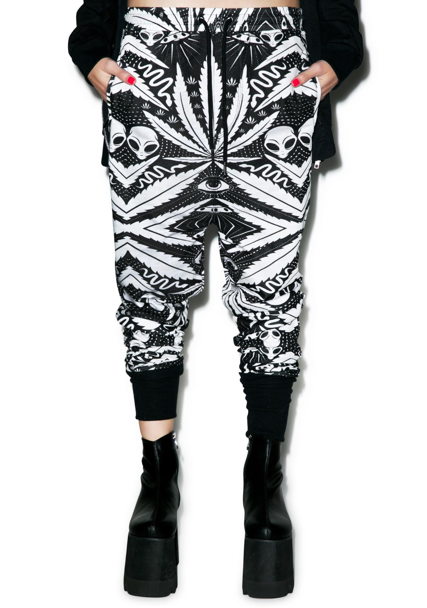 Killstar Space Grass Joggers