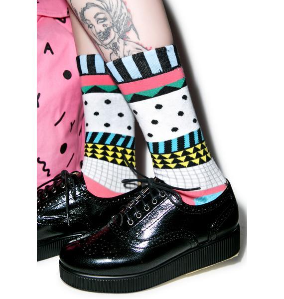 Lazy Oaf Dotty Socks