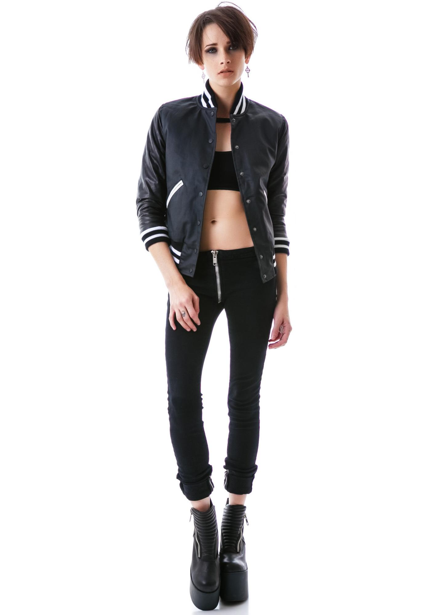 T bird leather jacket