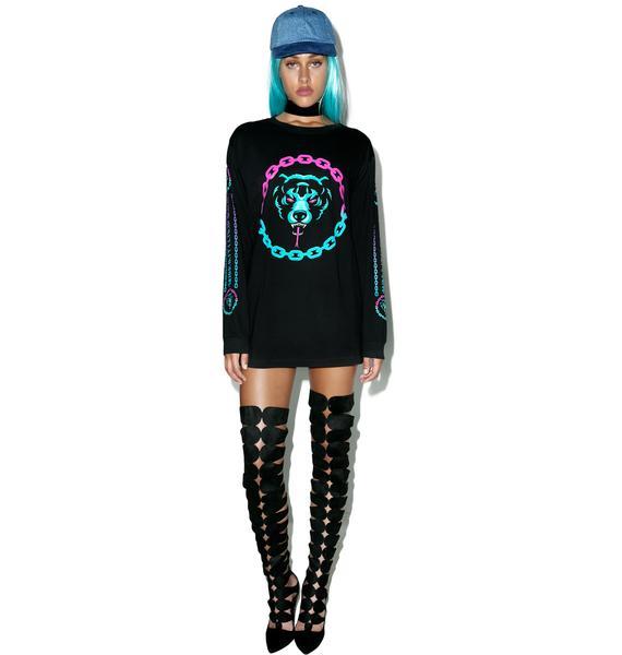 Long Clothing Mishka 2.0 Death Adder Chain Long Sleeve TShirt