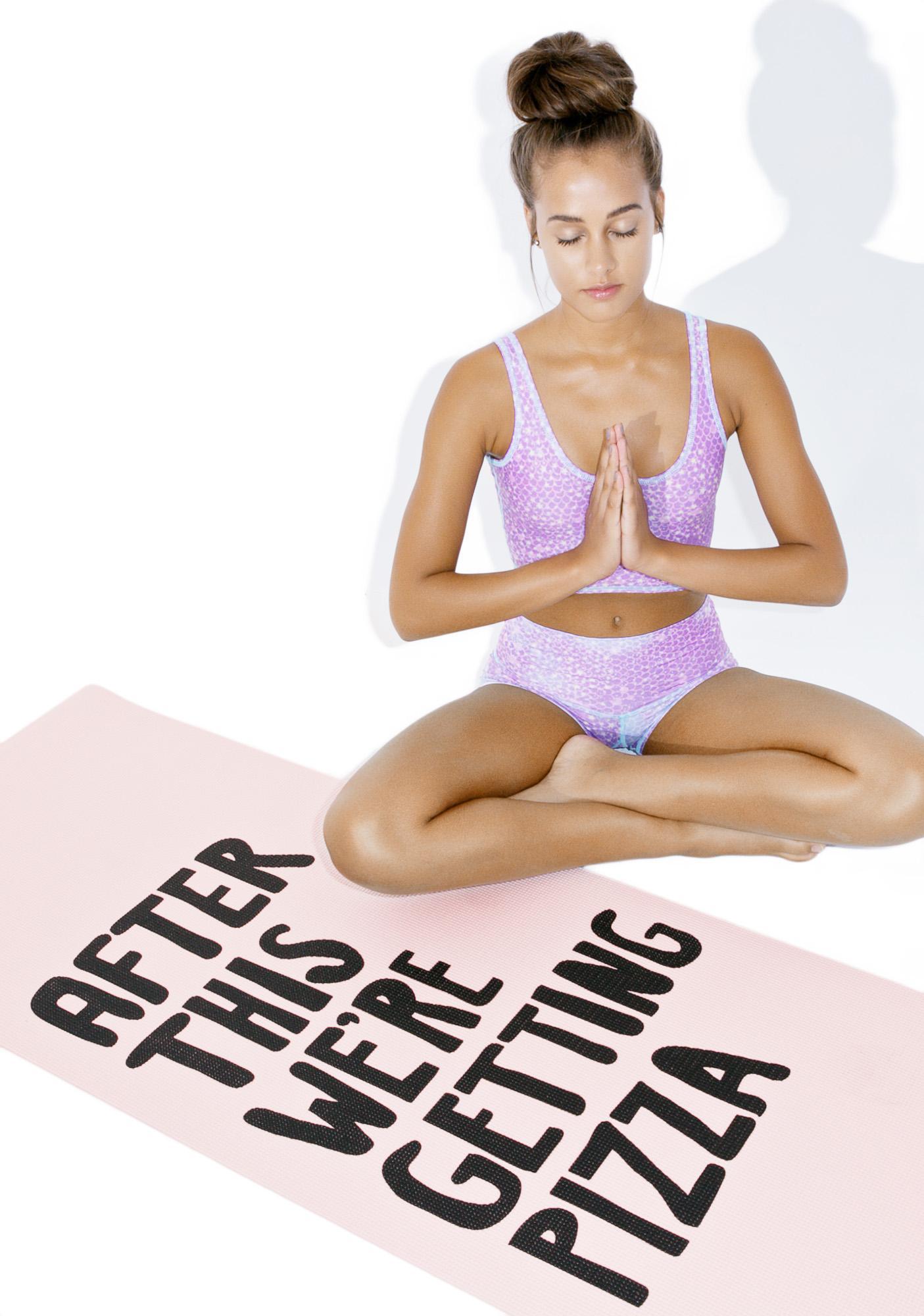 Workout Reward Yoga Mat