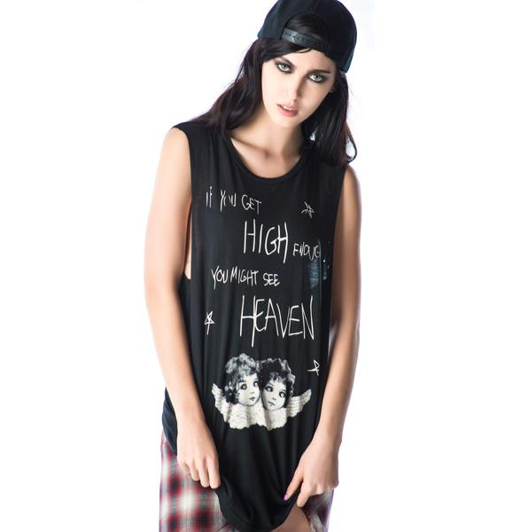 Lip Service High Enough Sleeveless Tee