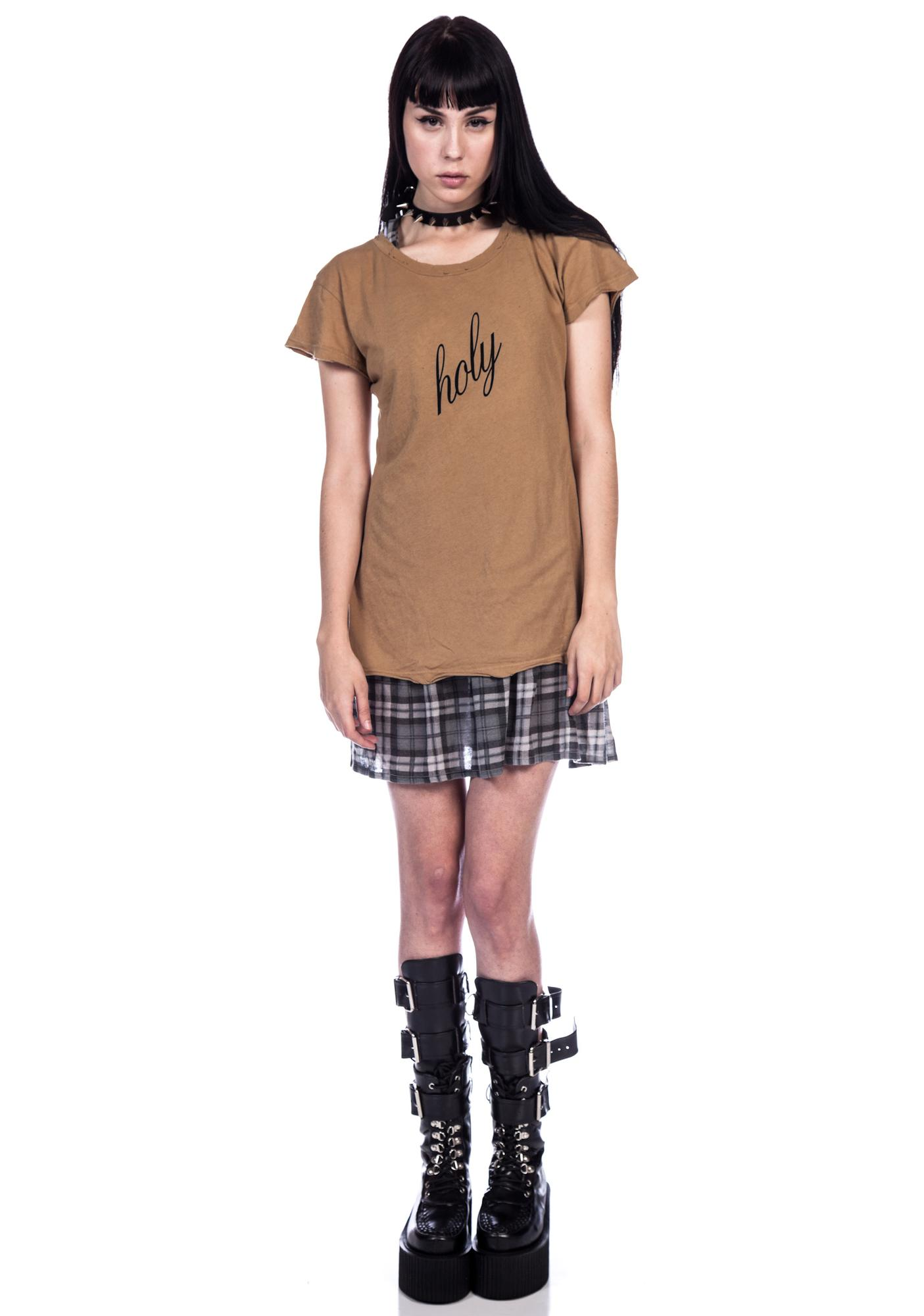 Wildfox Couture Holy Shirt Hippie Crew Tee