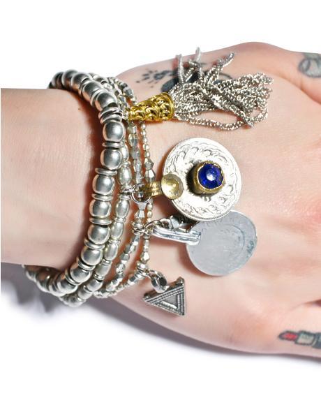 The Patsy Silver Bracelet Set