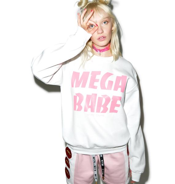 Stay Cute Mega Babe Crewneck