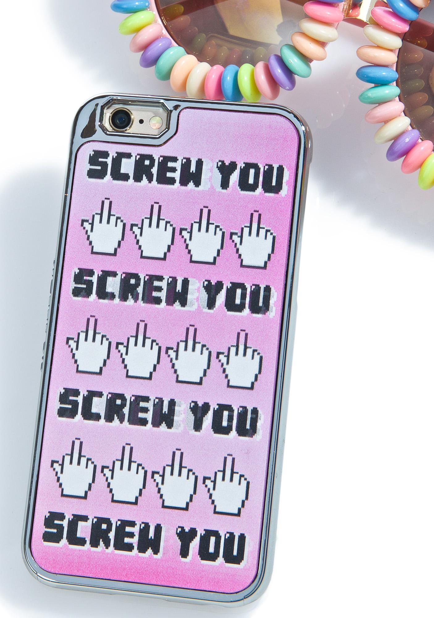 Skinnydip Screw You iPhone 6/6S Case