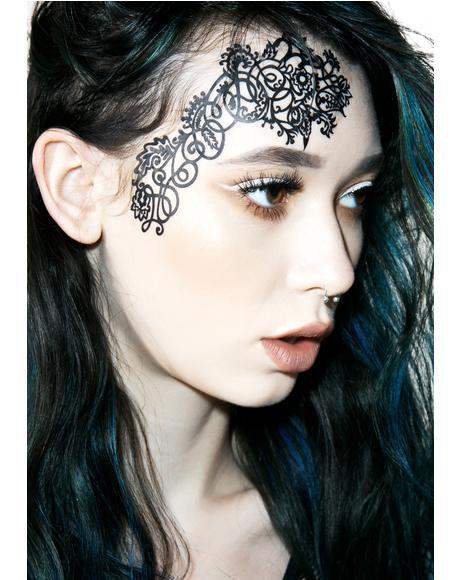 Mehndoodle 1 Face Lace