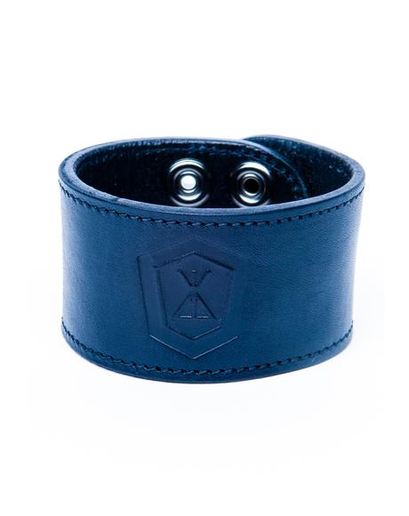 Long X Immense Leather Bracelet