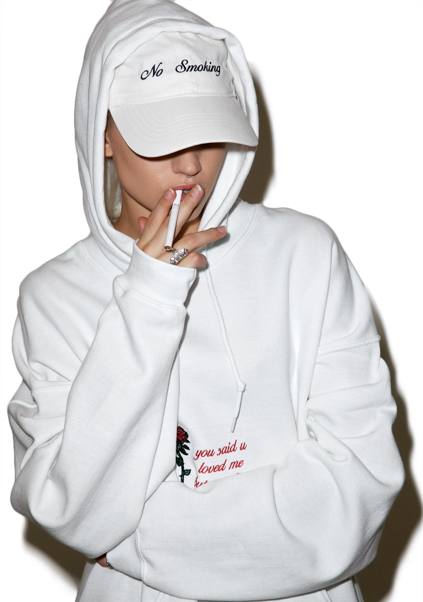 Danielle Guizio No Smoking Hat