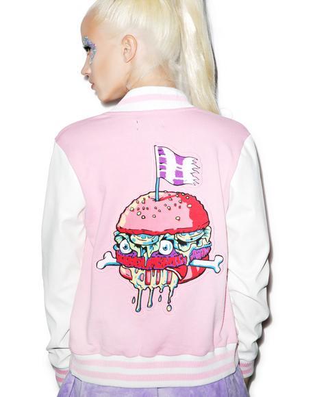 Death's Diner Varsity Jacket