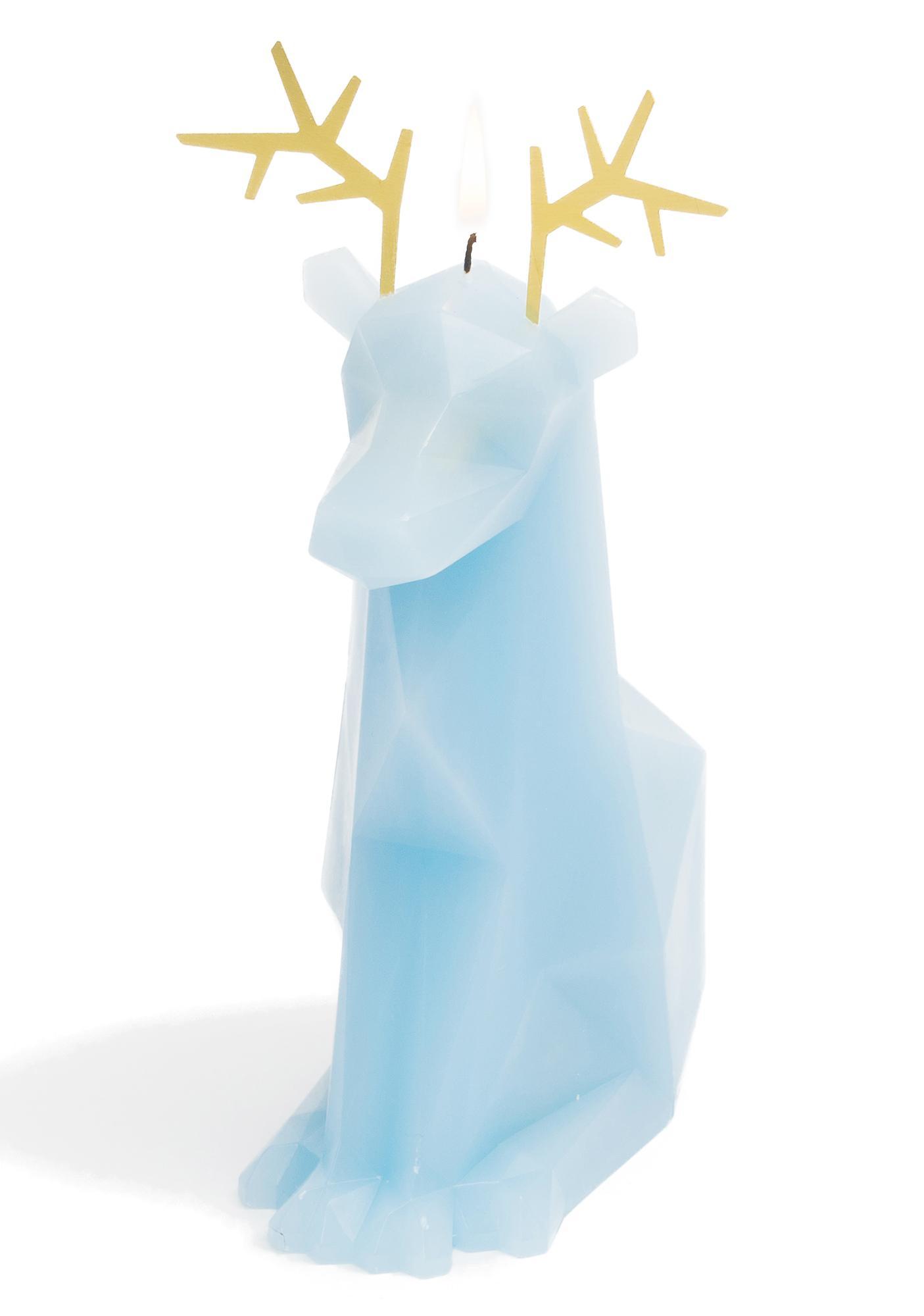 PyroPet Blue Dyri Candle