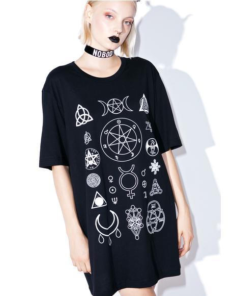 Witch Symbols T-Shirt