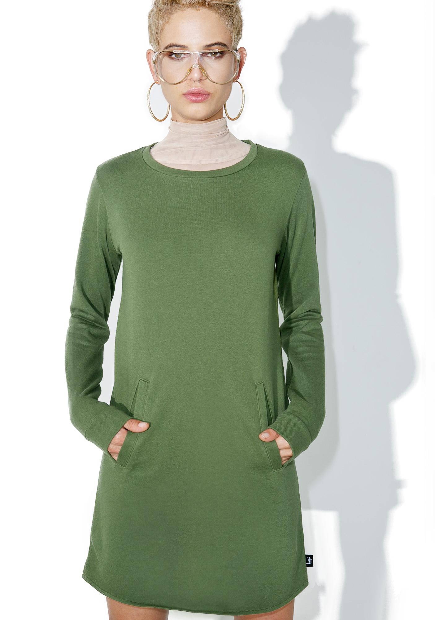 Stussy Banks Crewneck Dress