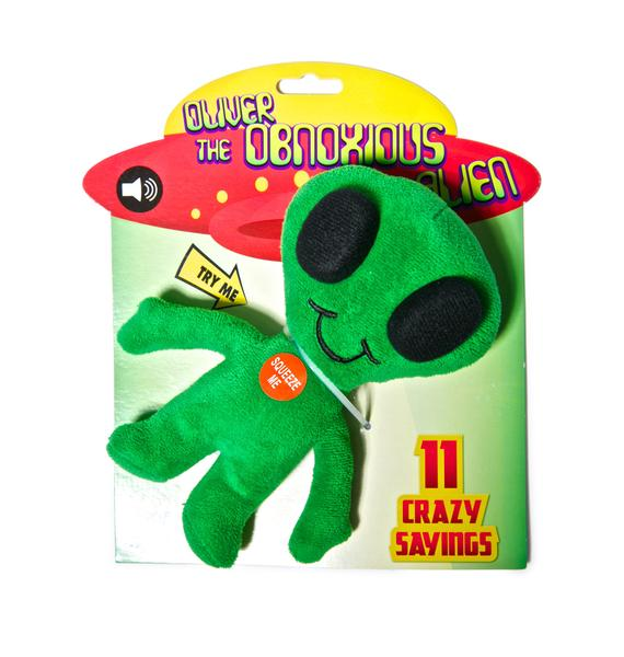 Oliver the Obnoxious Alien Plush Toy