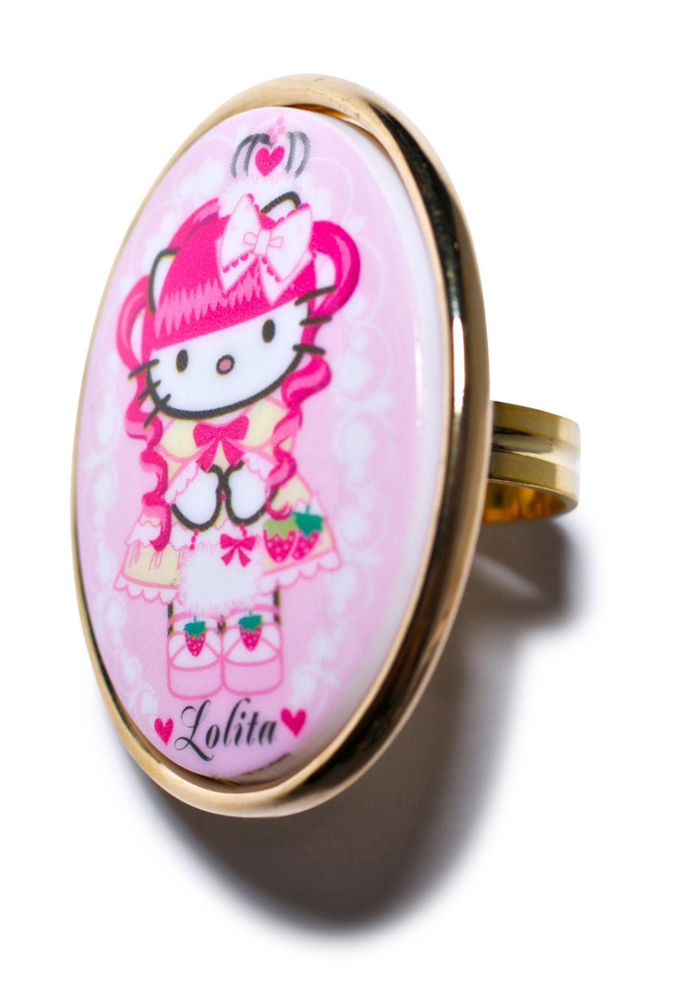 Tarina Tarantino Gothic Lolita Mod Ring