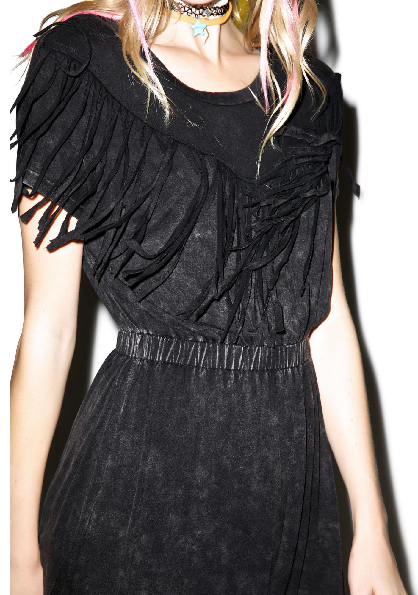 Sandstorm Fringed Dress