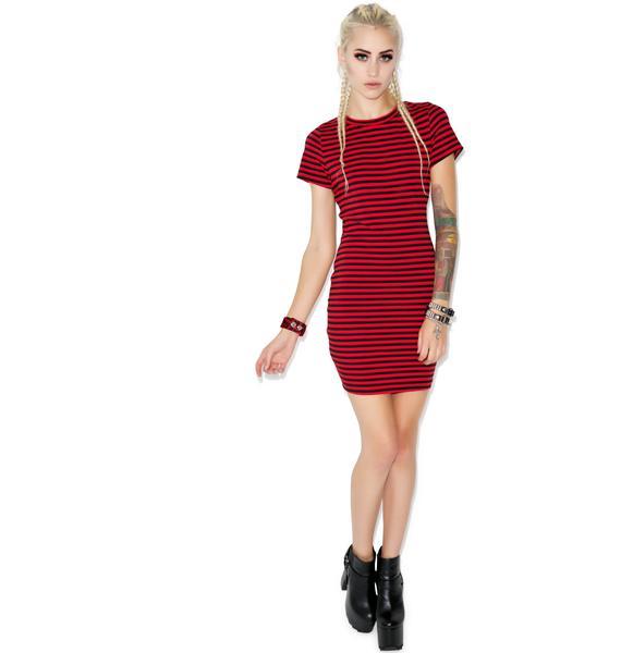 Menace T-shirt Dress