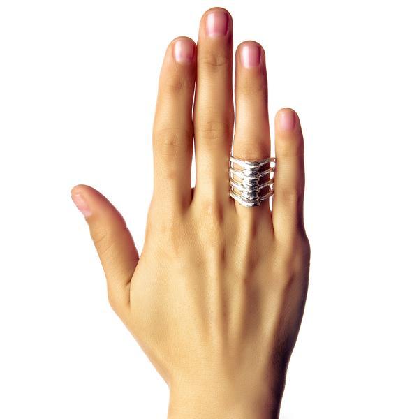 Stolen Girlfriends Club Vertebrae Ring