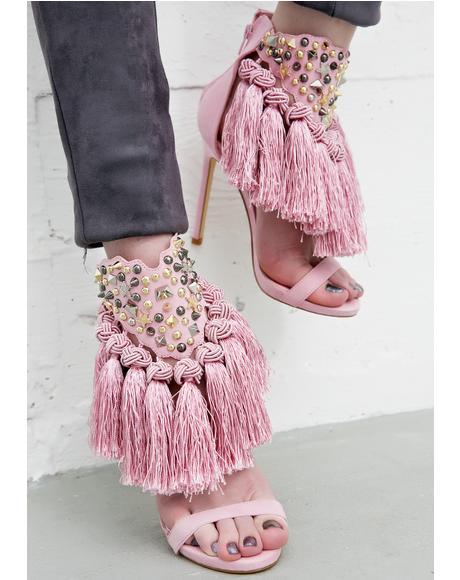 Ciao Bella Tassel Heels