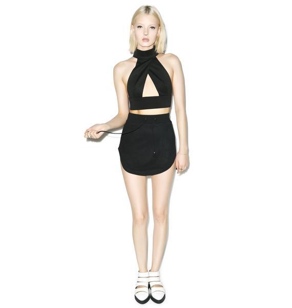 Nightwalker Apocalypto Mini Skirt