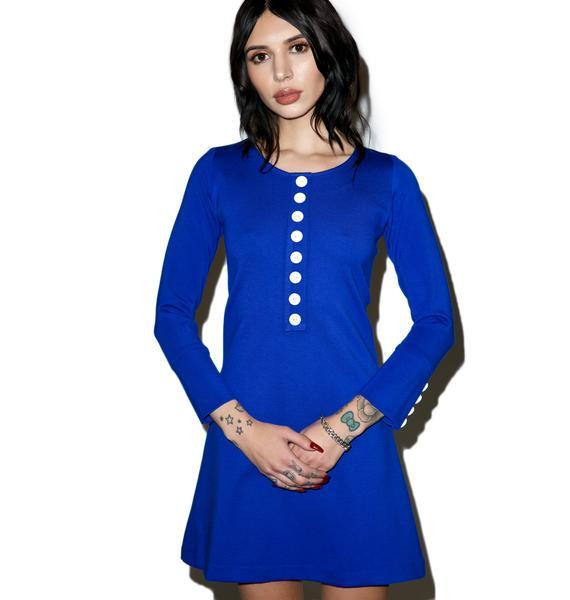 Sugarhigh + Lovestoned Sugarhigh Long-Sleeve Mini Dress