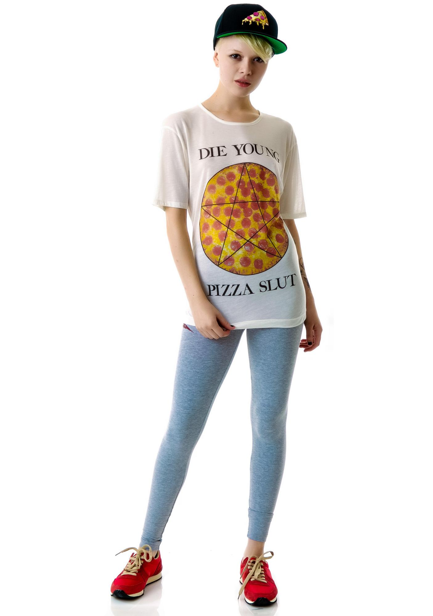 United Couture Pizza Slut Tee
