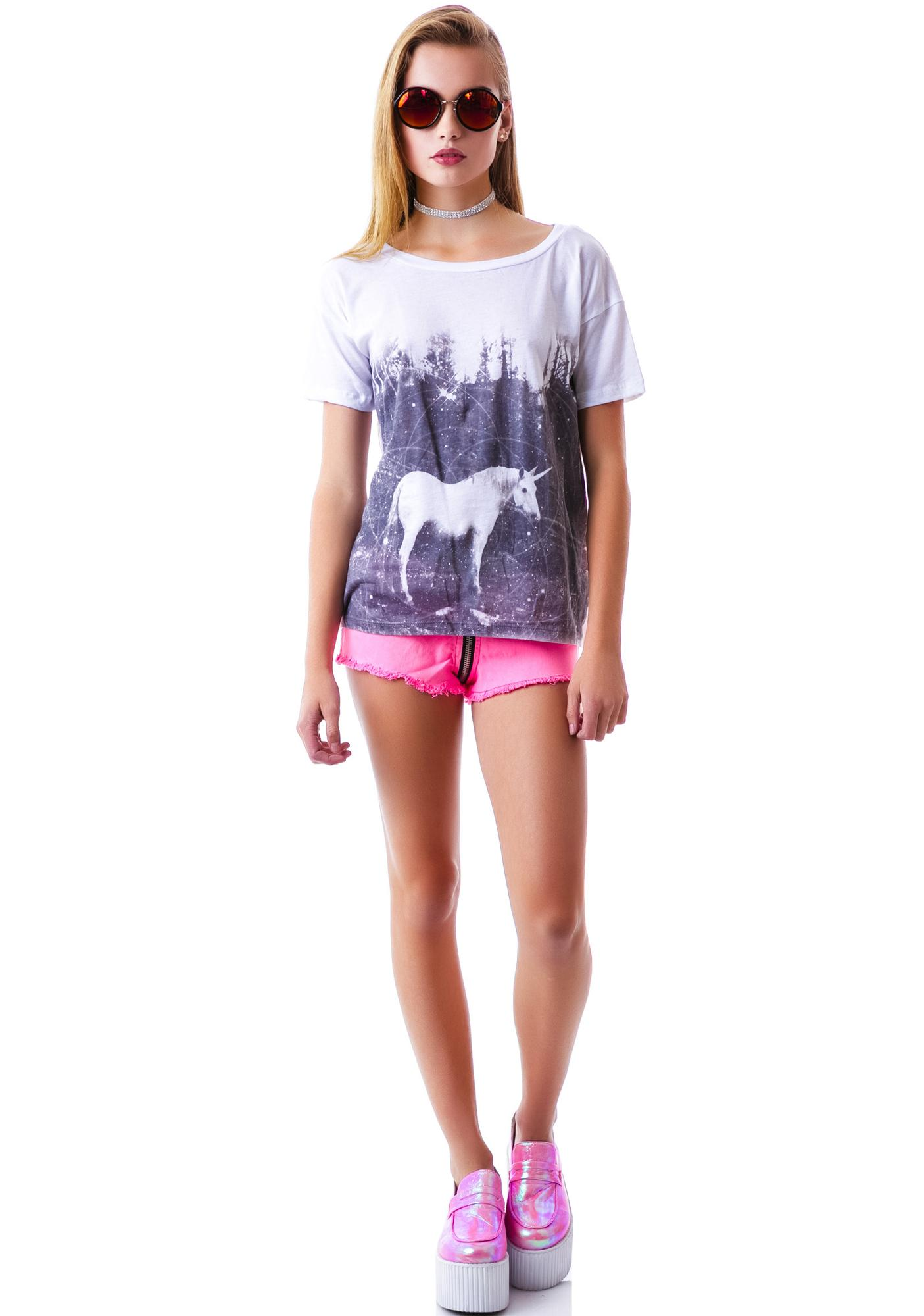 Fairy Horse Faded Box Tee