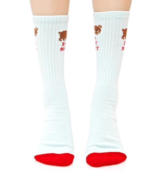 HUF Bear Cute Sock