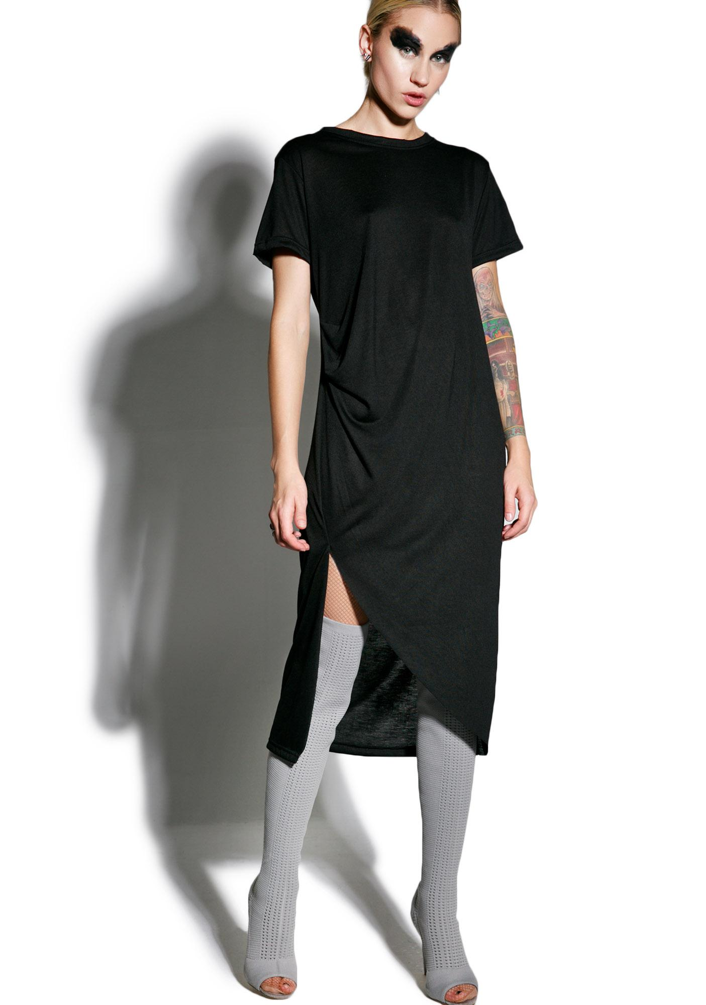 MNML Complexities Midi Dress