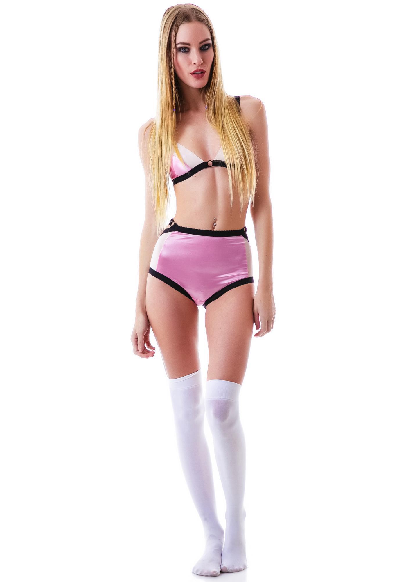 Kayleigh Peddie Laina High Panty