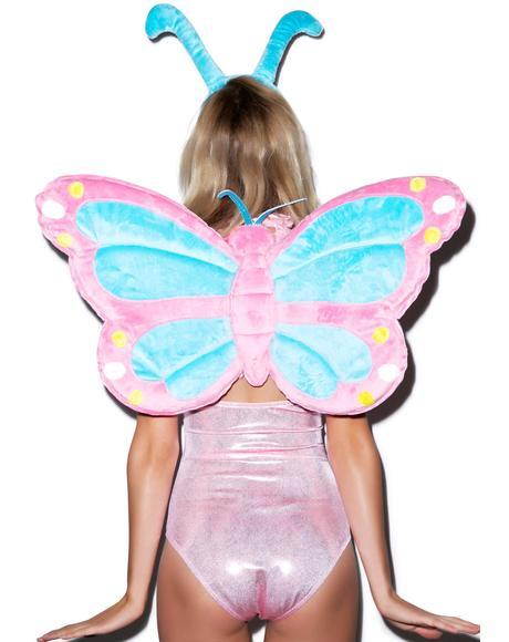 Pastel Butterfly Wings