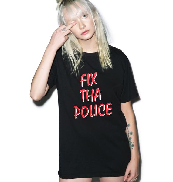 Lazy Oaf Fix Tha Police T-Shirt