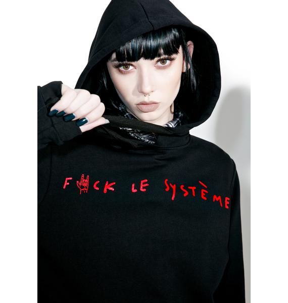 Happiness Fuck Le System Hoodie
