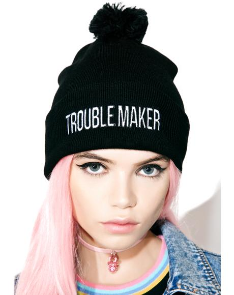 The Bonehead Bobble Hat