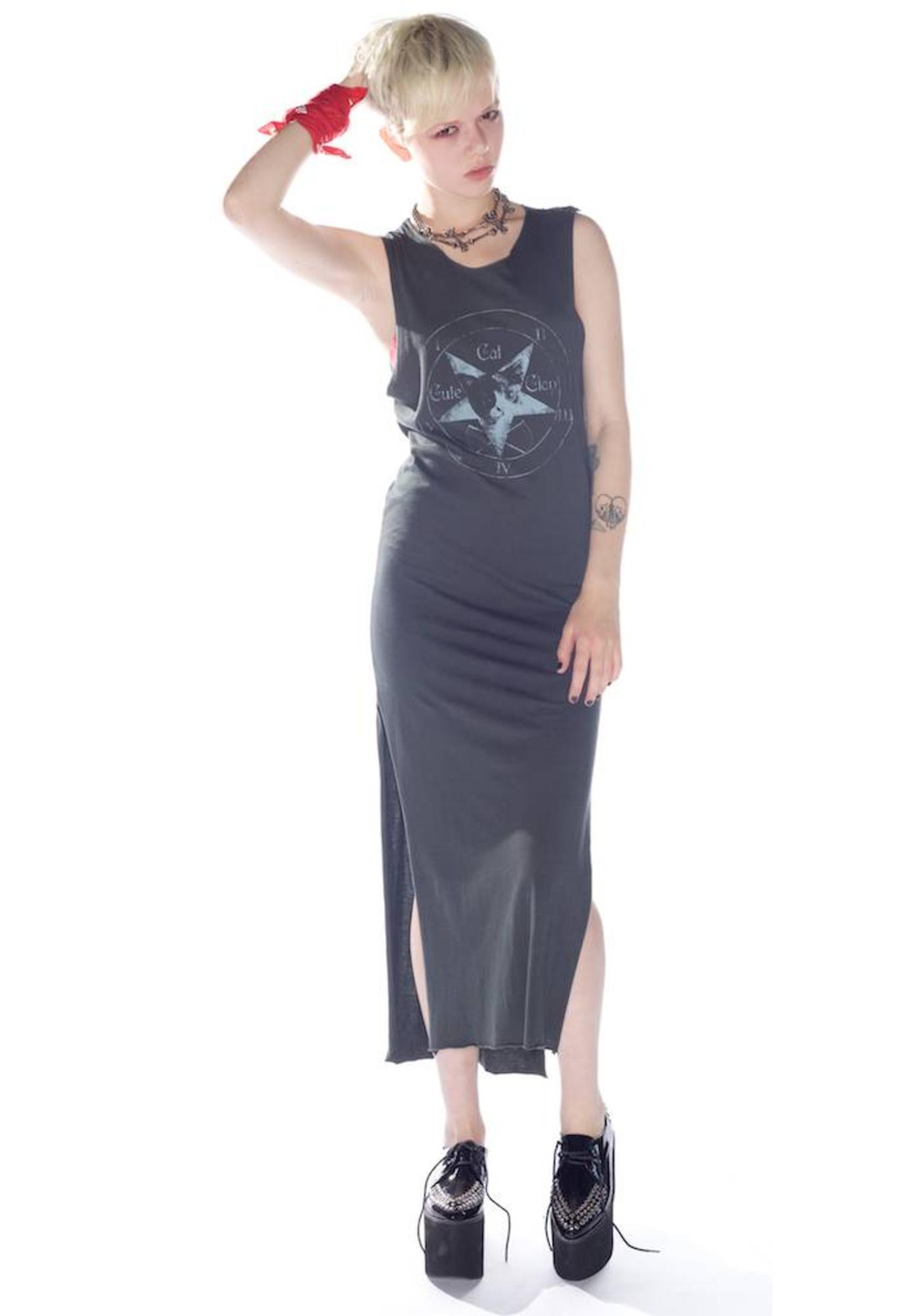 UNIF Heavy Meowtal Long dress