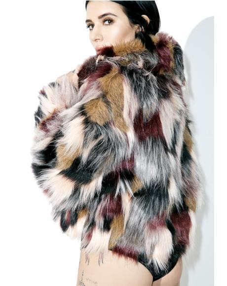 All Hours Faux Fur Jacket