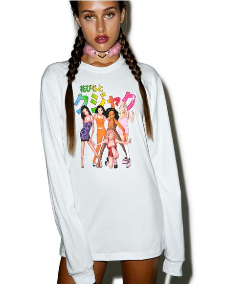 Girlz Long Sleeve Shirt