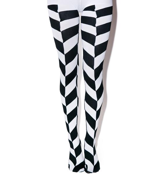 Optikal Illusion Tights