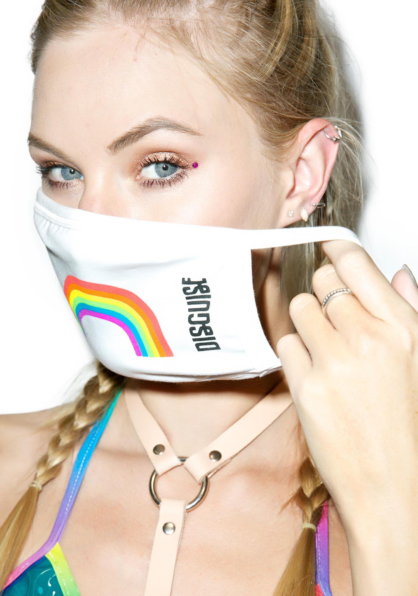 MeYouVersusLife X Disguise Rainbow Face Mask