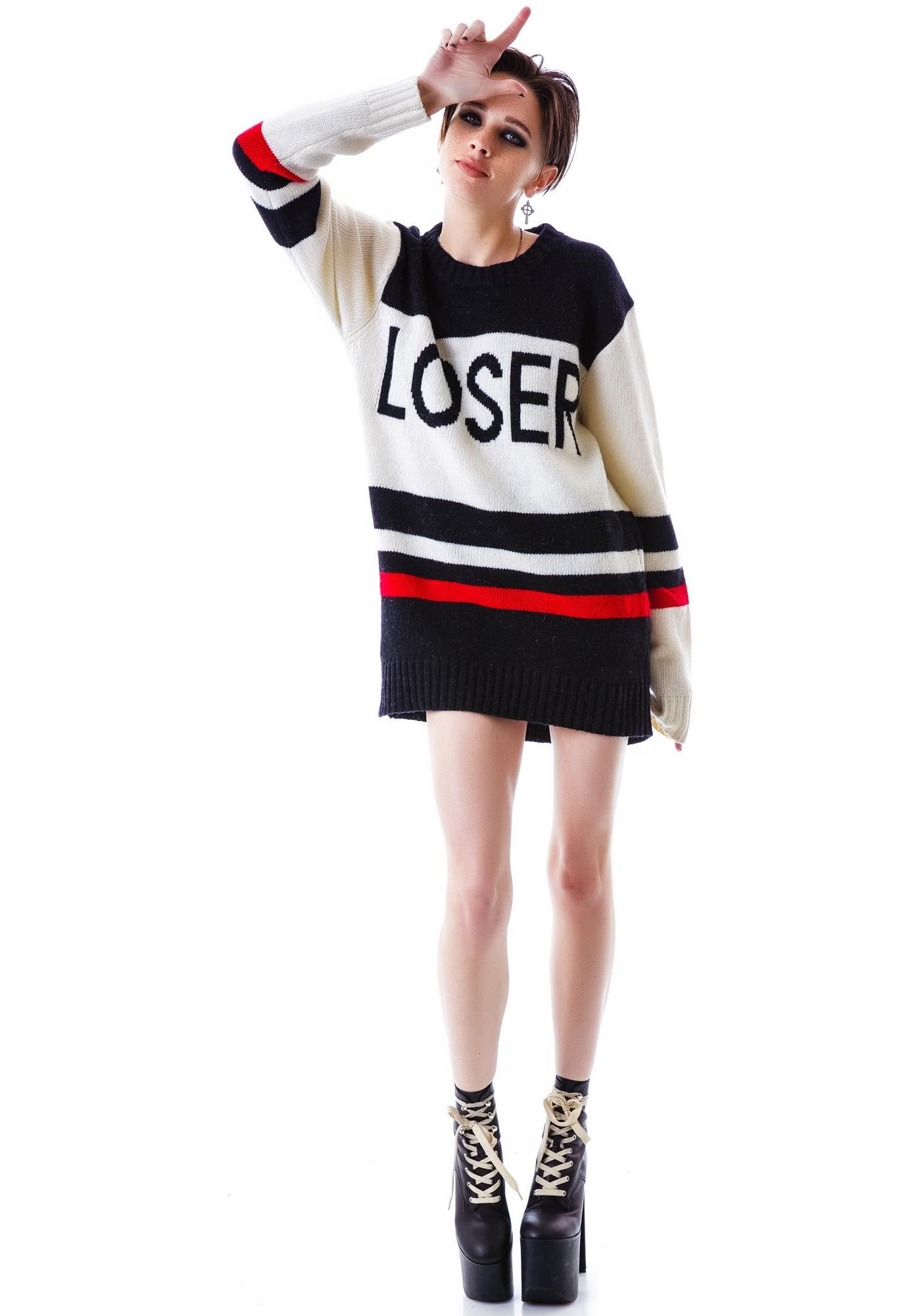 UNIF Loser Sweater